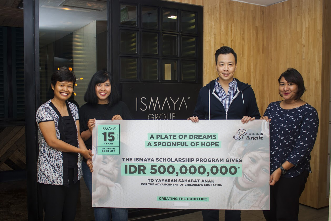 A PLATE OF DREAMS, A SPOONFUL OF HOPE: A MOVEMENT TO BRING EDUCATION BY ISMAYA AND PARTNERS