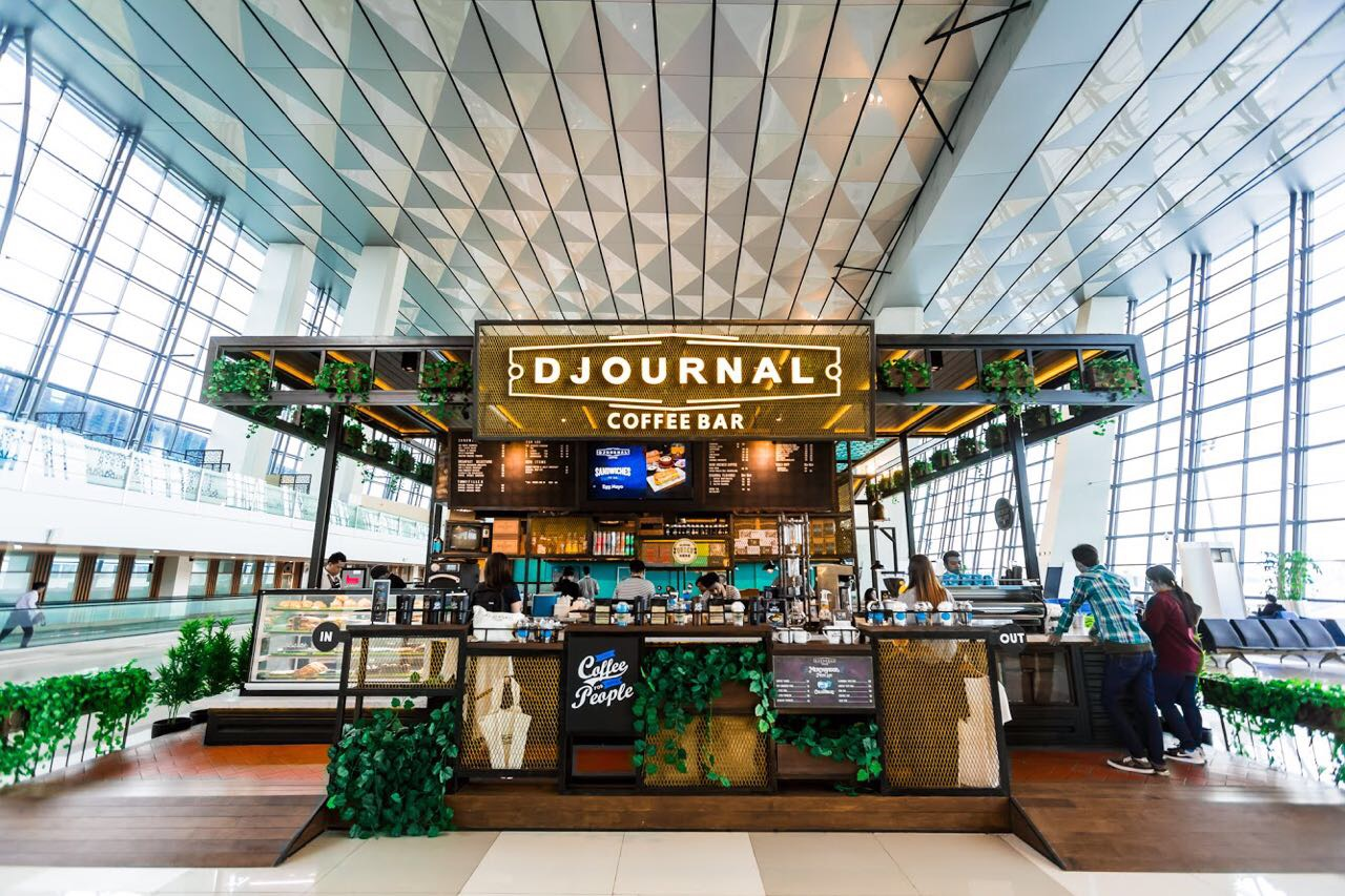 DJOURNAL COFFEE IS ACKNOWLEDGED AS ASIA PACIFIC'S BEST AIRPORT COFFEE SHOP