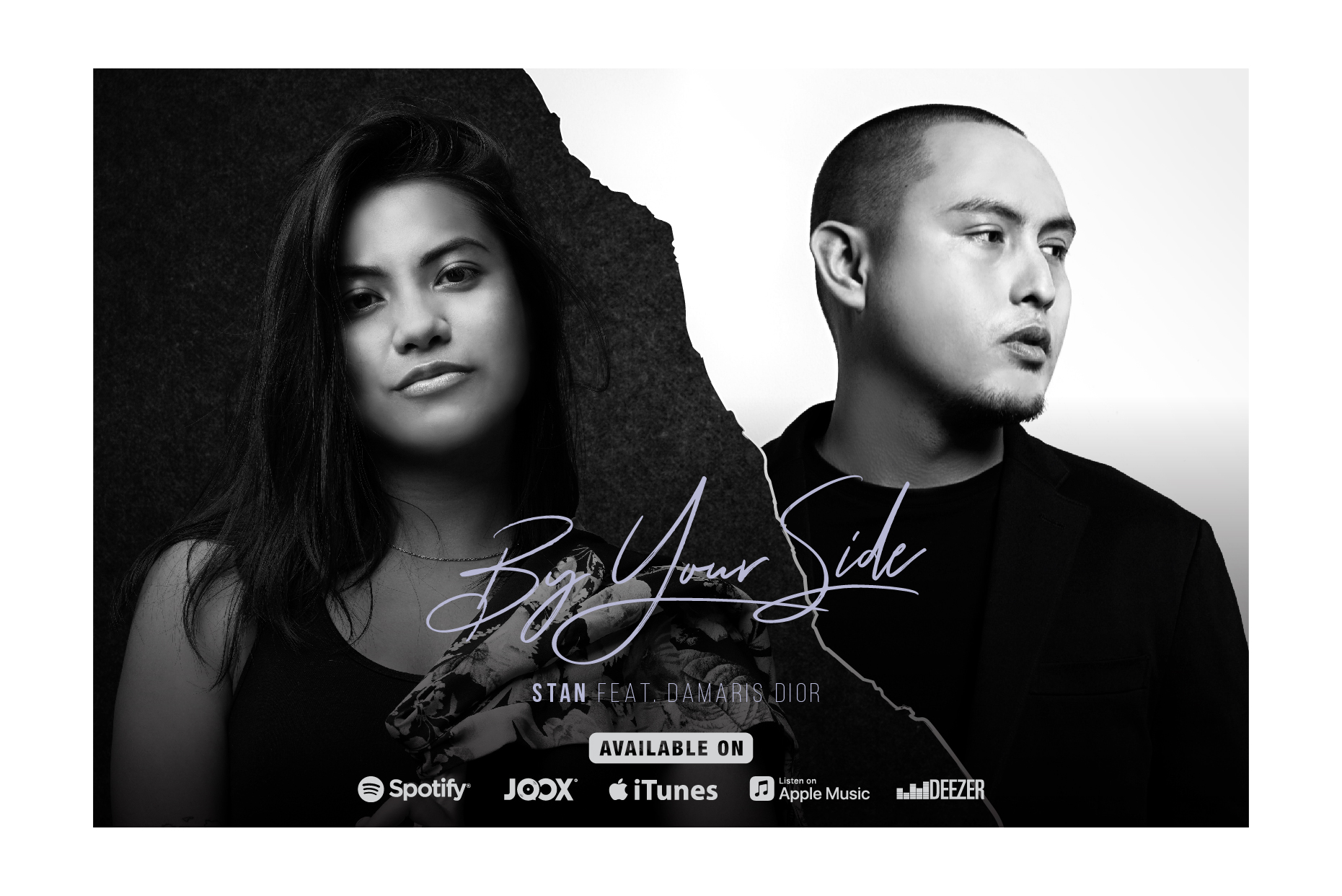 INSPIRE ARTISTRY'S HIP-HOP ARTIST STAN RELEASES 'BY YOUR SIDE'  FEATURING DAMARIS DIOR