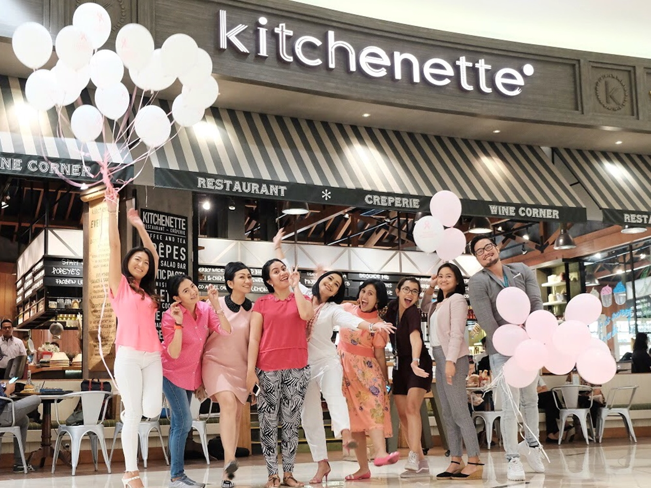 KITCHENETTE PRESENTS 'WE HEART PINK' IN COMMEMORATING BREAST CANCER AWARENESS MONTH