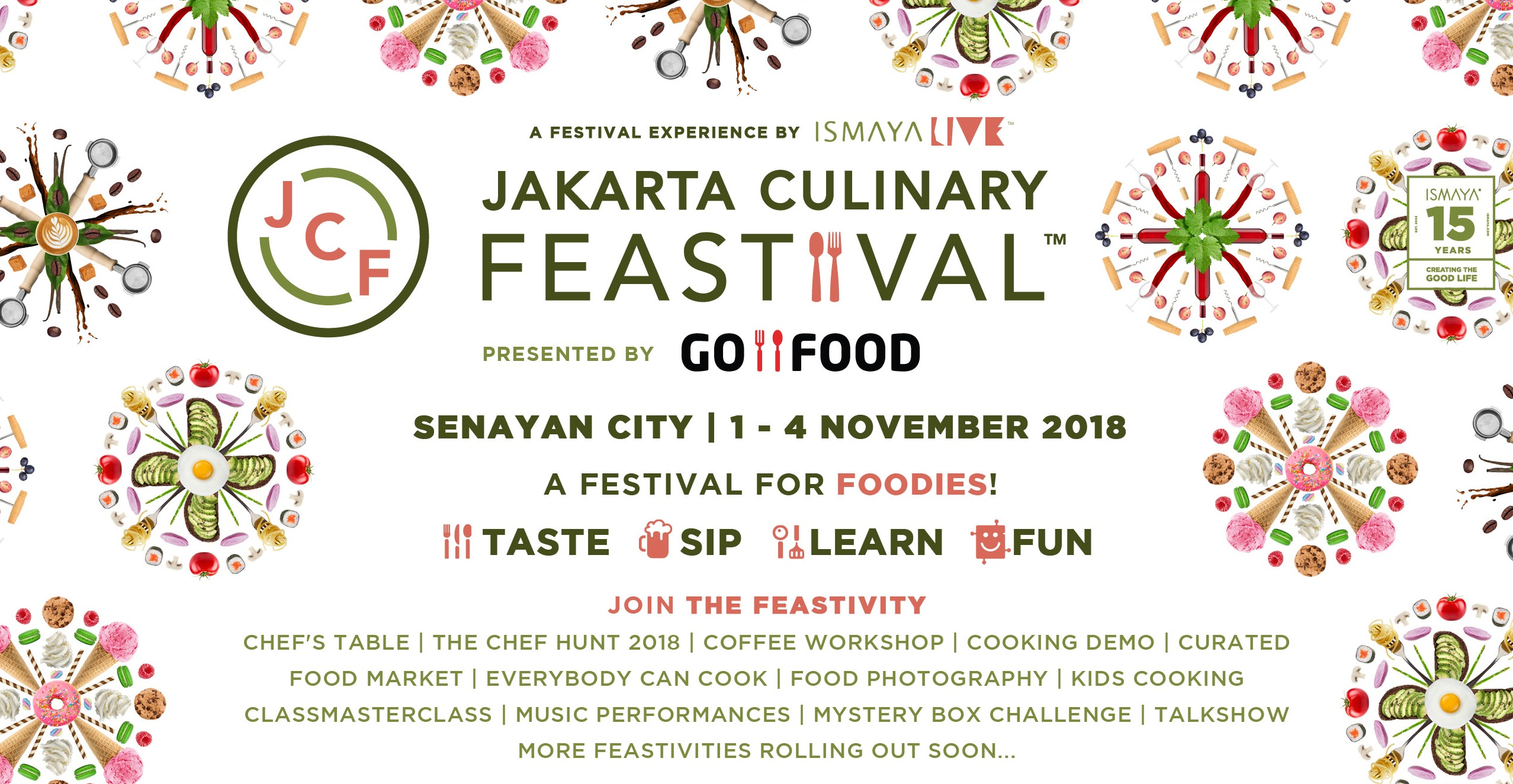 The Biggest Foodies Festival Is Back: Jakarta Culinary Feastival 2018!