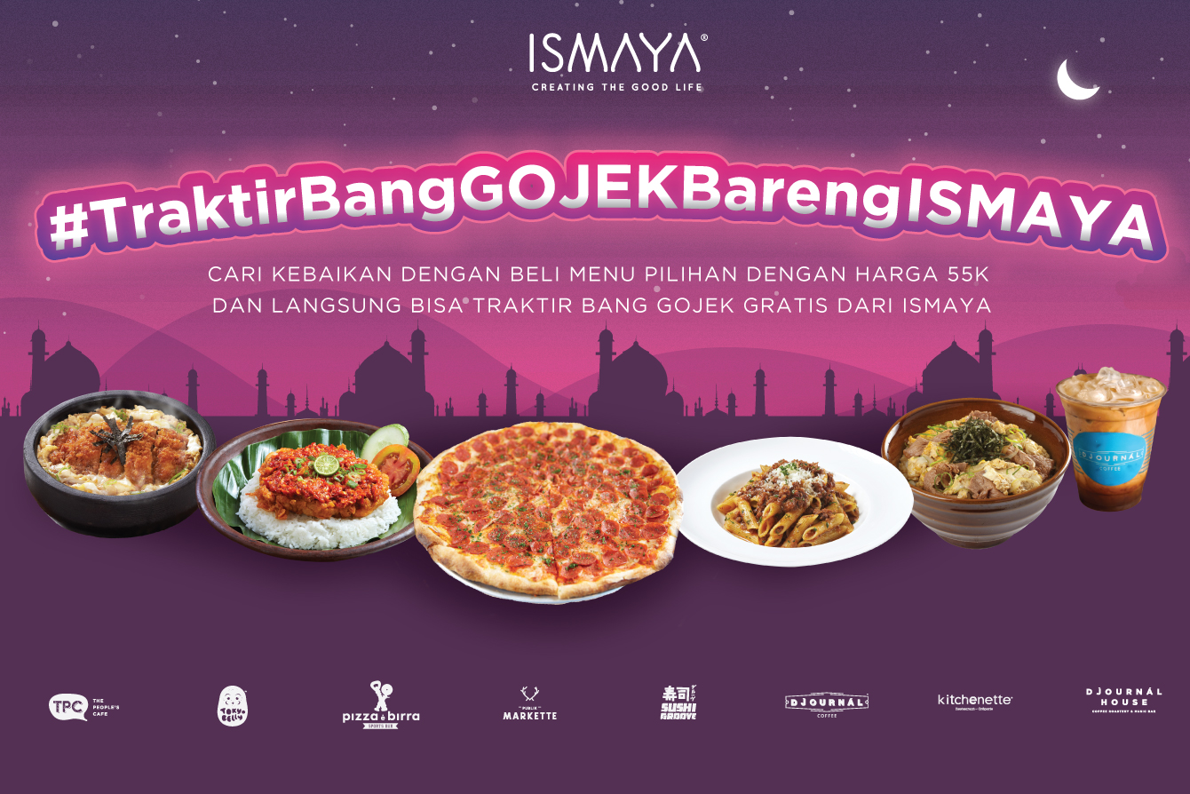 WHAT BETTER WAY TO GIVE BACK THAN THROUGH FOOD WITH ISMAYA?