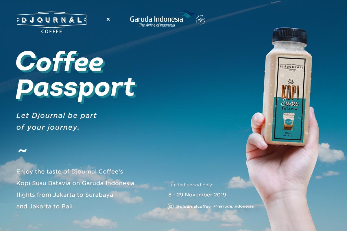 Coffee Passport Makes Your Journey Even Better with Garuda and Djournal