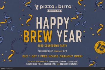 Pizza and Beer Lovers, Rejoice! Spend Your New Year's at Pizza e Birra Sports Bar!